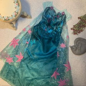 Hong Kong Disneyland Elsa Frozen Fever Costume